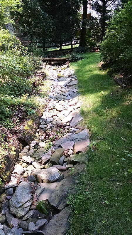 Rustic Stone Channel